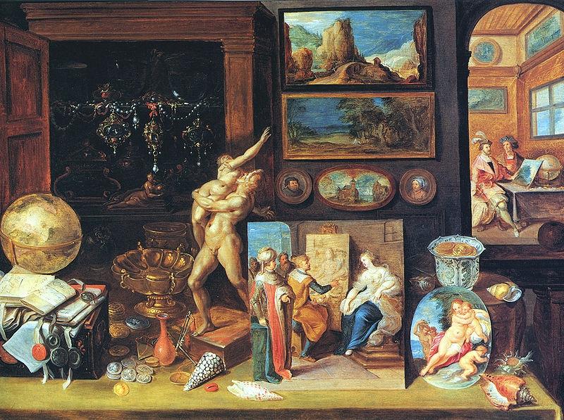Illustration du cabinet d'un particulier
