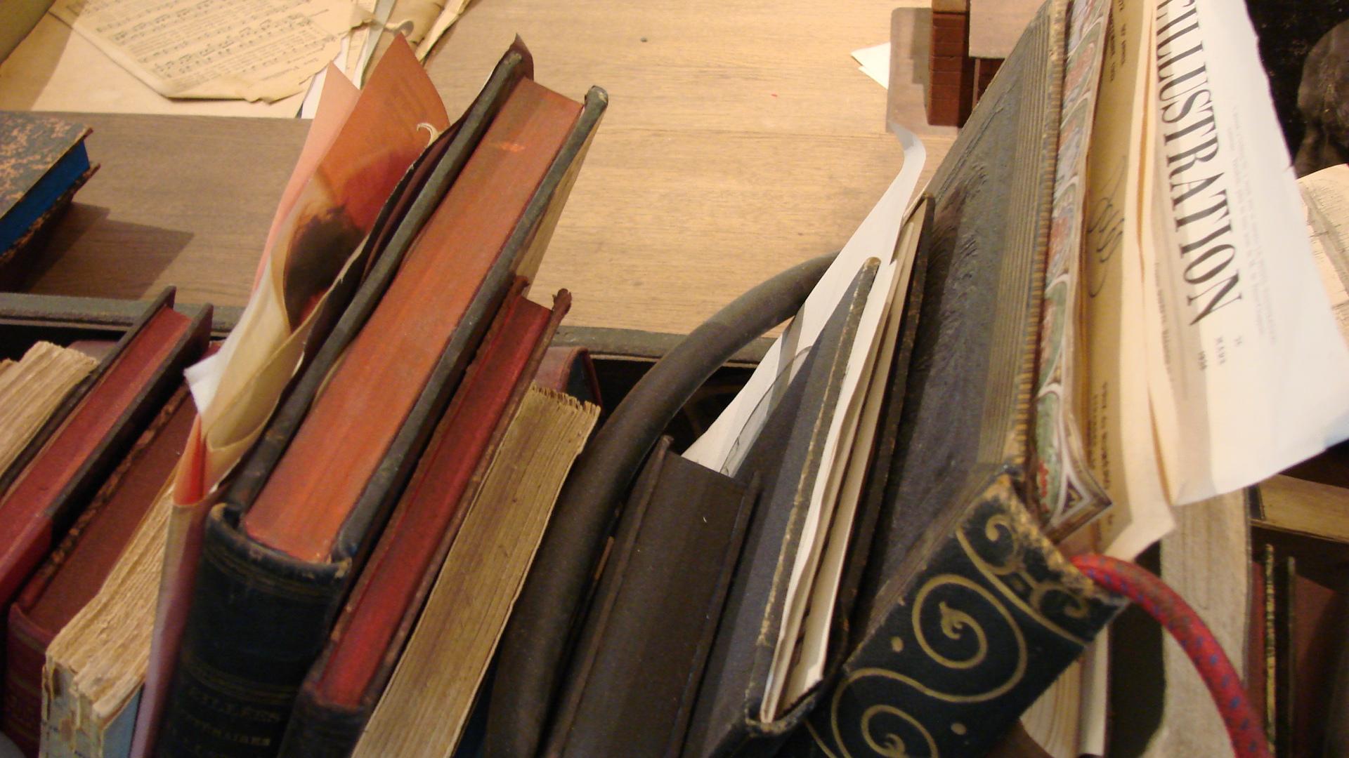 Reliures conservées au musée