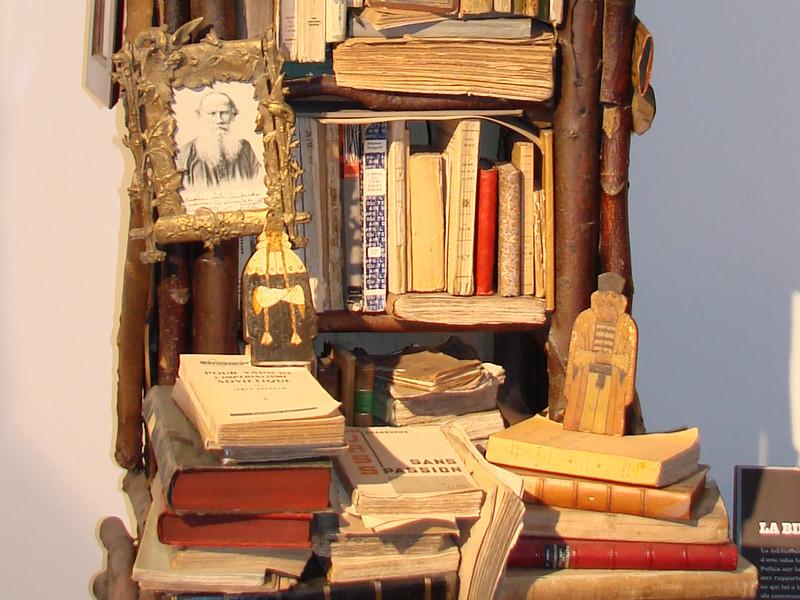 Détail de la bibliothèque russe