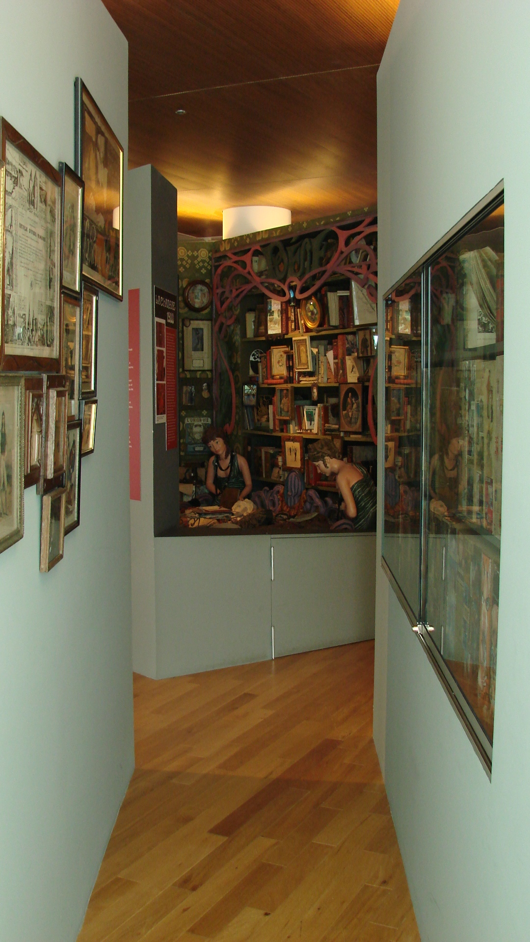 Couloir du musée