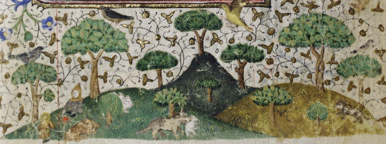 Bergers dans la forêt