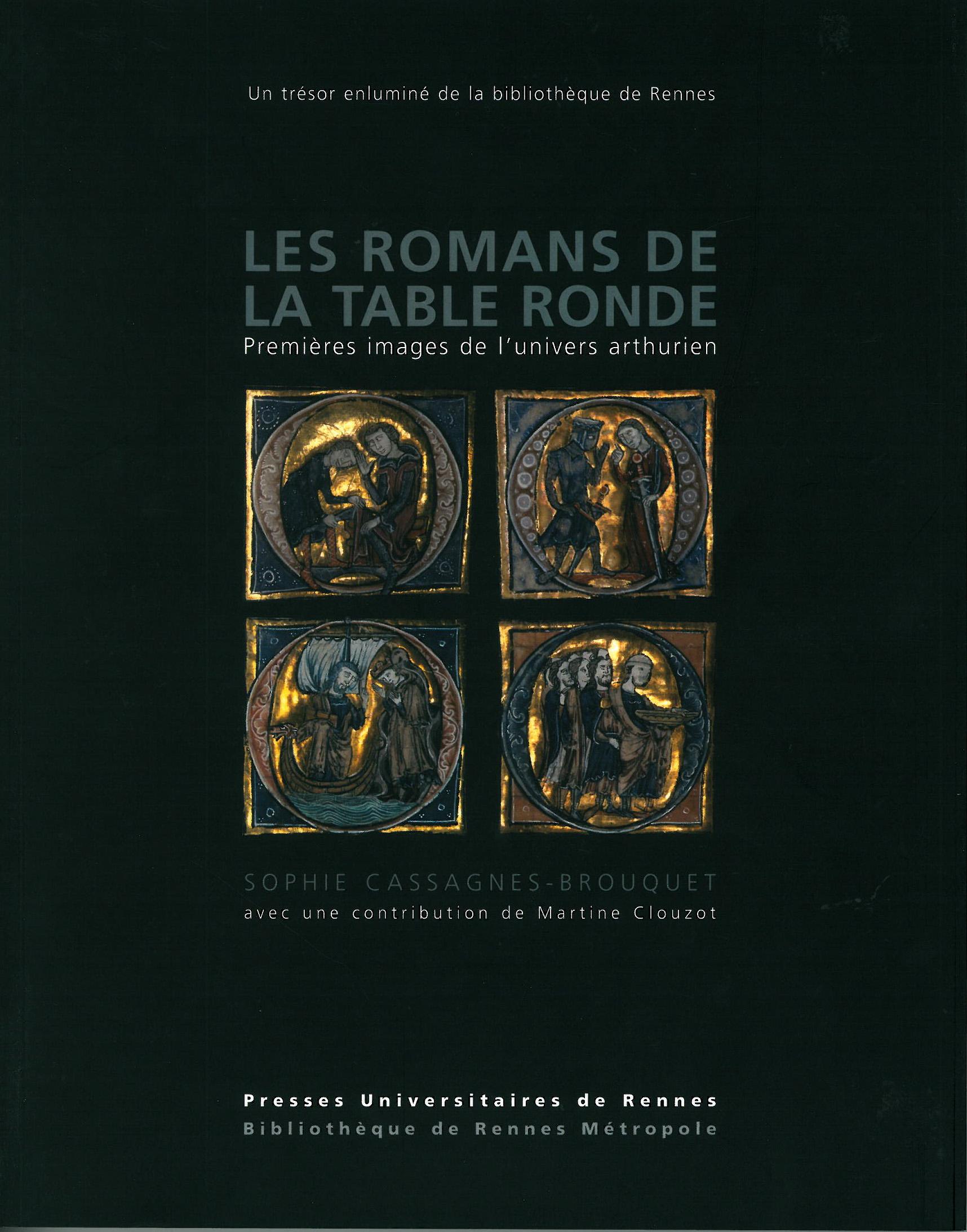 Couverture du livre Les Romans de la Table ronde