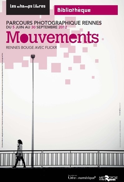 Affiche de l'exposition mouvements